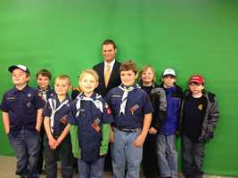 One of the best parts of the job is getting to talk to kids about weather and climate. It's my hope some of them get fascinated and grow up to become meteorologists or scientists someday themselves!