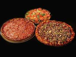 Located on Dixon Street in Fayetteville, Marley's specializes in Chicago style pizza. They have gluten-free and vegan friendly options as well as outdoor seating!