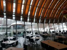 Crystal Bridges Art & Coffee is a beautiful art gallery with a dining room that overlooks the lake. For a night of sophisticated romance that wont break the bank, be sure to visit Crystal Bridges in Bentonville.