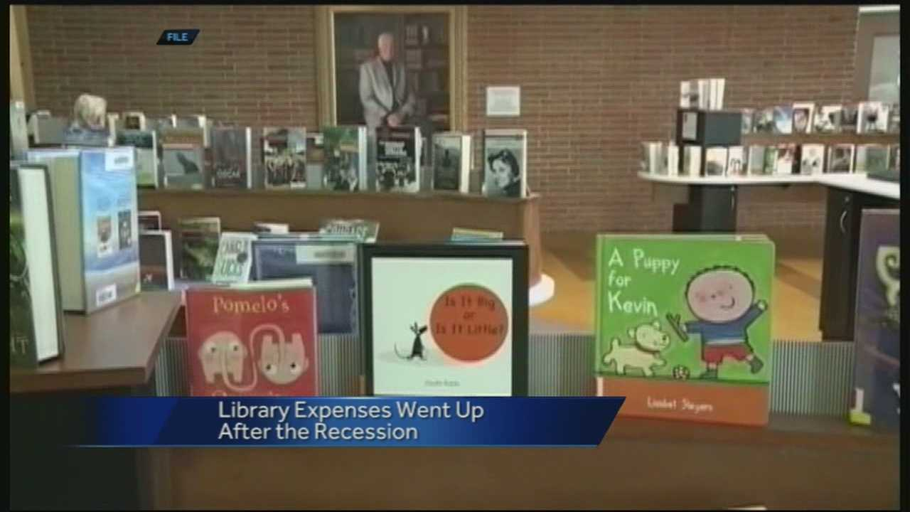 40/29's Brad Carl reports on how the recession caused library expenses to increase and how it may be up to a tax increase to save the library.