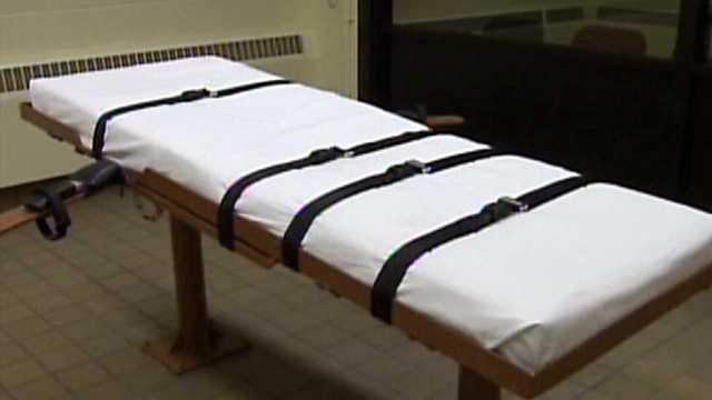 Death penalty lethal injection