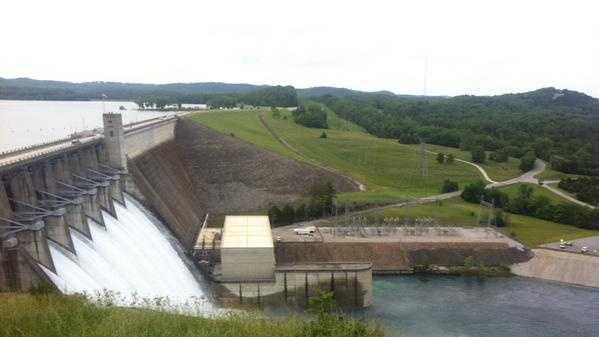 Beaver Dam floodgates open