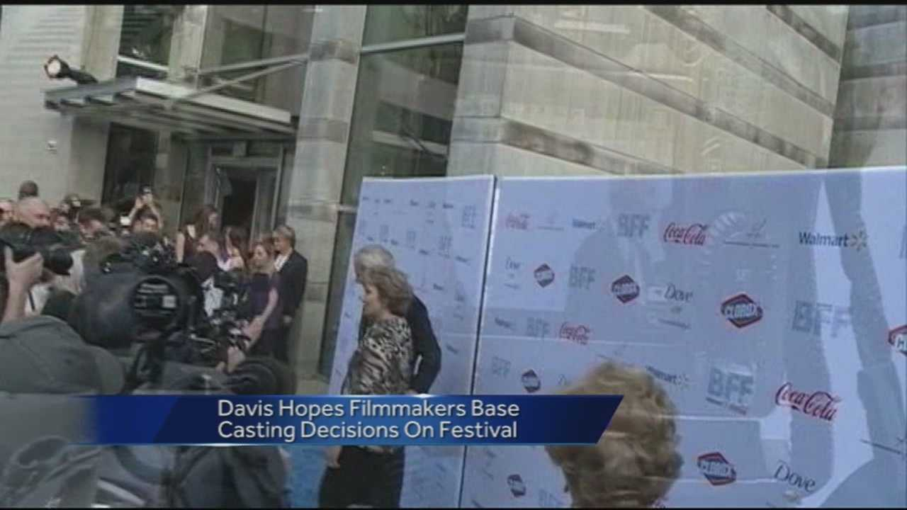 The second annual Bentonville Film Festival will be held May 3rd-8th in Bentonville. Founder Geena Davis is hoping to build off a successful first year.