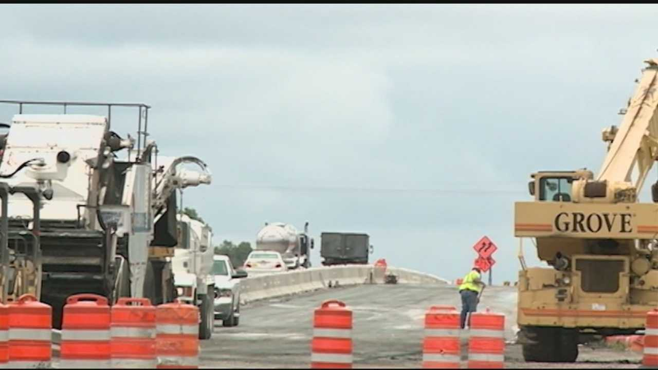 img-When will barriers be moved on I-49 in Fayetteville