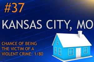 Violent crimes in Kansas City, MOPopulation 446,810MURDER RAPEROBBERY ASSAULTREPORT TOTAL983771,6653,725RATE PER 1,0000.210.813.577.98
