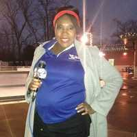 Ugochi enjoyed reporting while pregnant. Her doctor said it kept her healthy and her baby active.