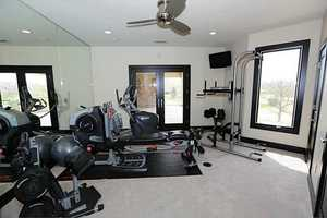 Personal exercise room