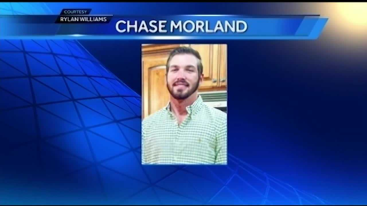 Memorial service held for Chase Morland