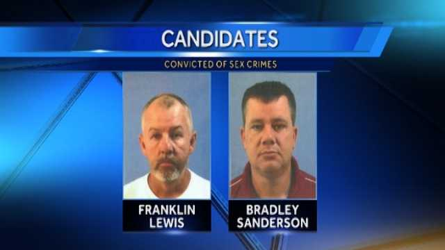 Candidates convicted of sex crimes running for office