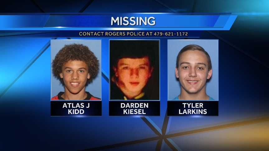 three teenages missing graphic