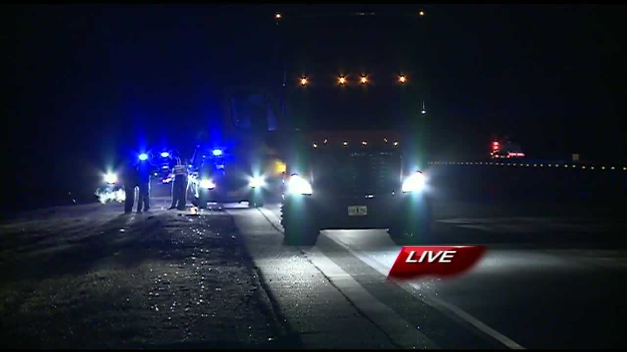 Woman dies after being hit by a semi