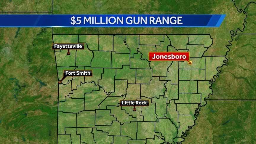 jonesboro gun range map