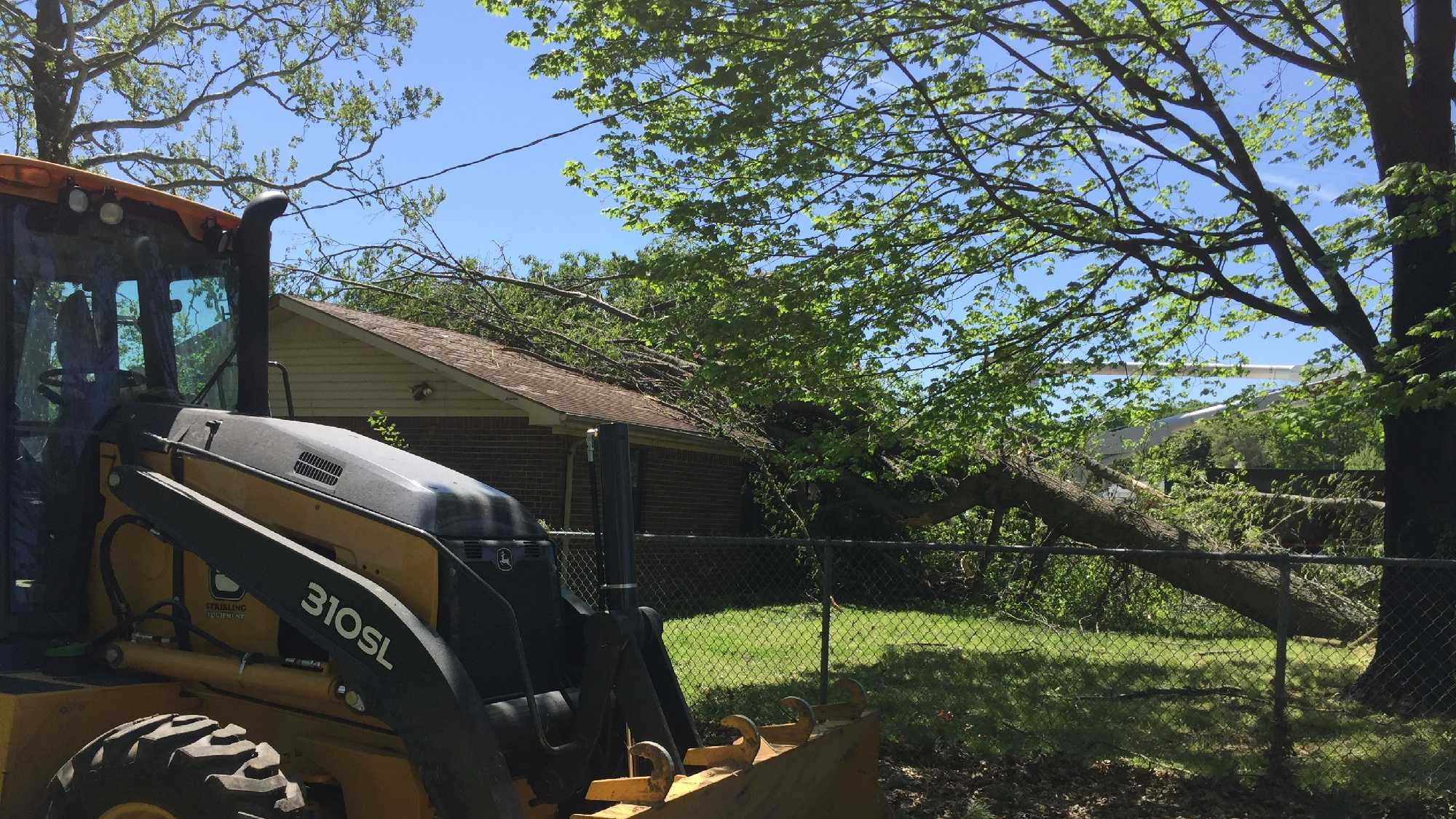 Crews are cleaning up storm damage after an EF-1 tornado passed through Decatur this week.