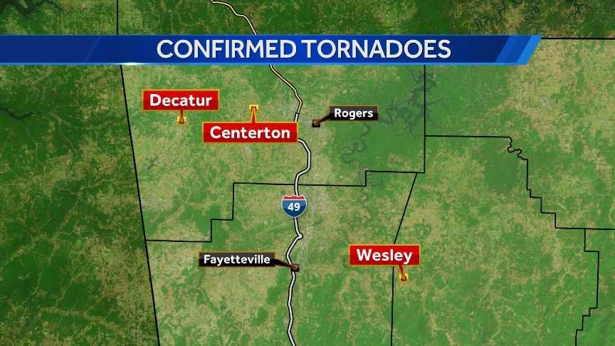 three tornadoes