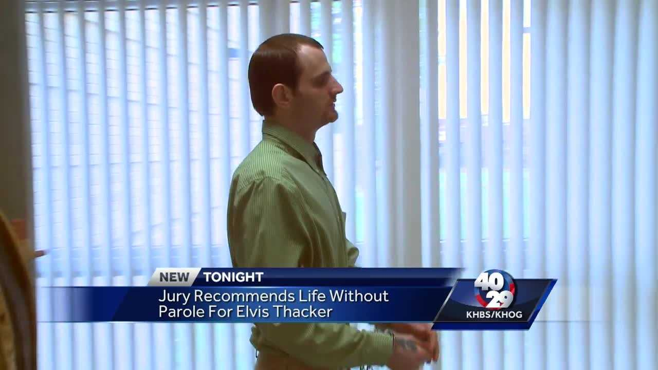 Jury recommends life in prison for Elvis Thacker