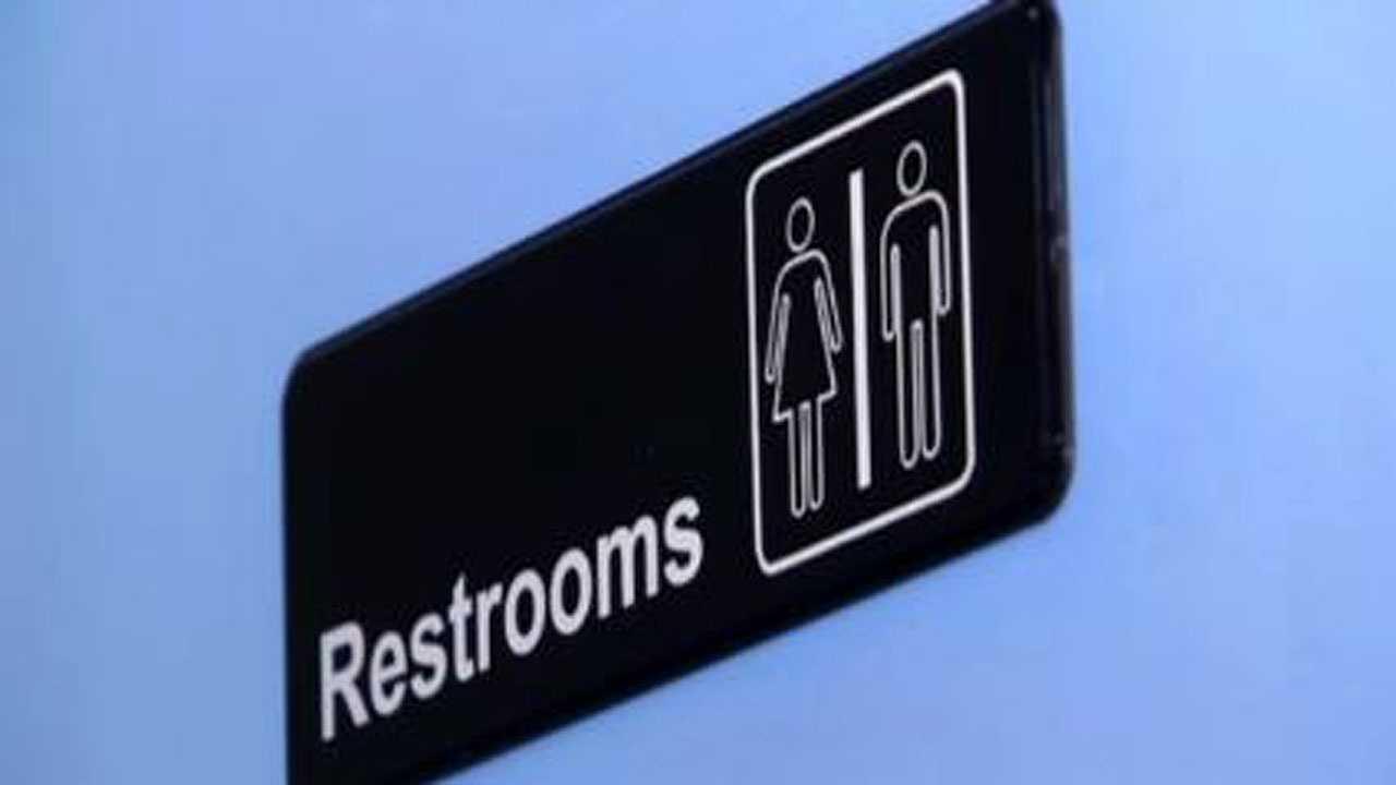 NC restroom sign