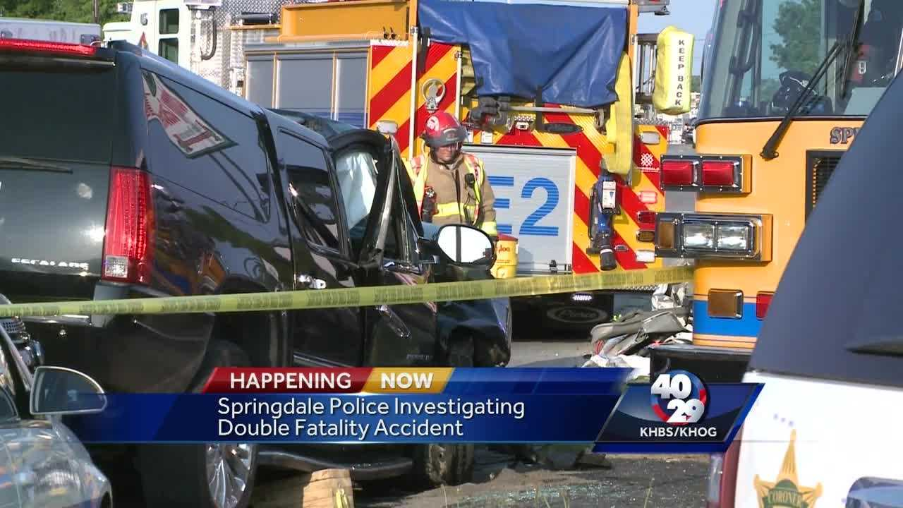 Two dead in Springdale after crash on Sunset Avenue