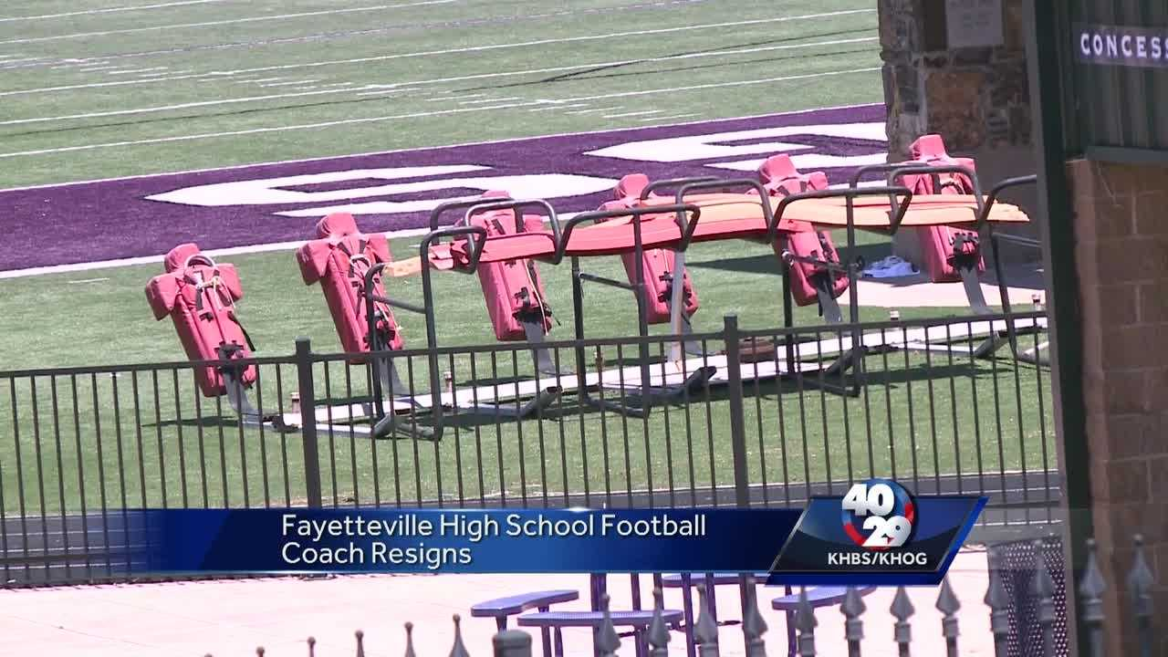 Search committee formed after Fayetteville football coach resigns.