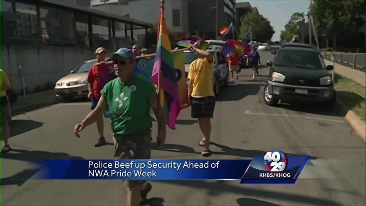 Fayetteville plans security for Pride Parade