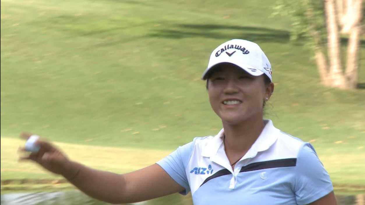 Lydia Ko salutes fans at 18