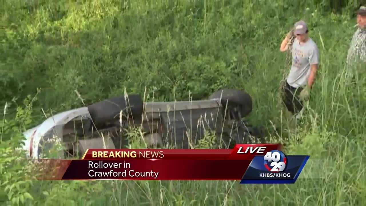 ASP: Driver missing after car crashes into guardrail along the interstate