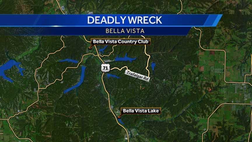 Bella Vista wreck map