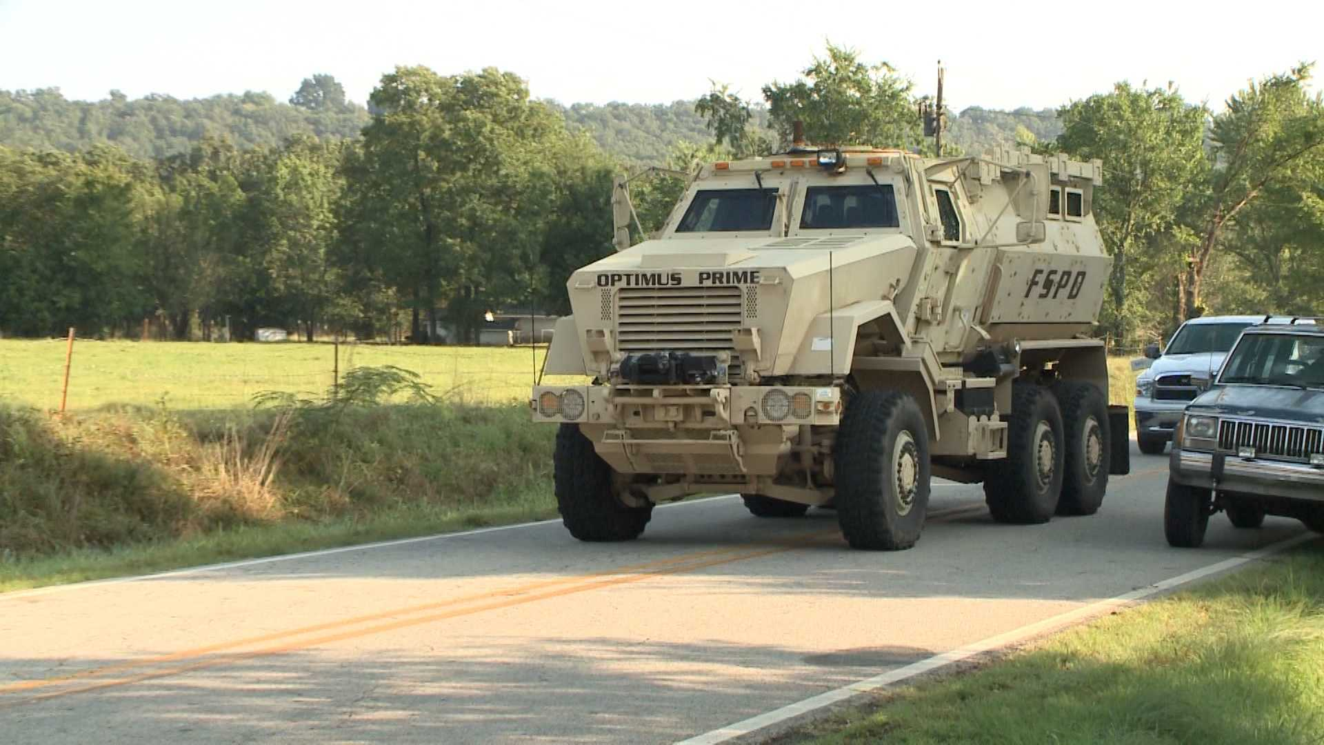 Police are crediting their armored vehicle with saving lives when SWAT team members used the vehicle last week in the deadly shootout that claimed the life of Deputy Bill Cooper.