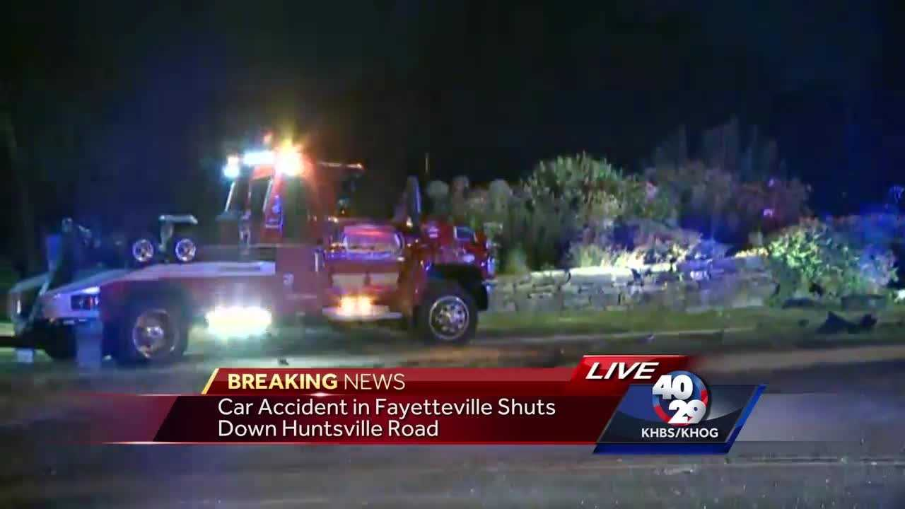 Crash at Happy Hollow & Huntsville Rd. Shuts Down Intersection
