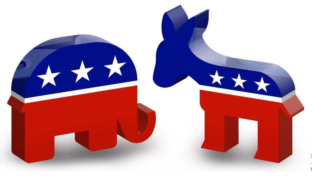 Republican Democrat symbols