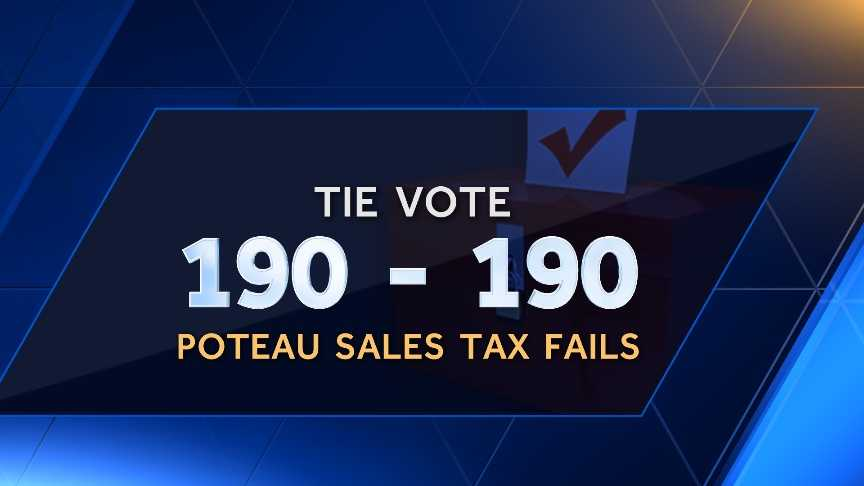 Poteau sales tax vote