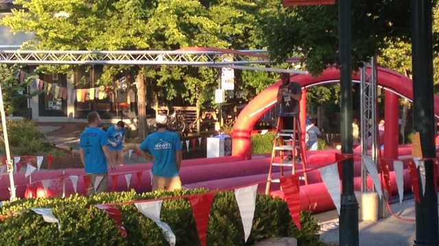 Dickson Street Slide kicks off Sunday