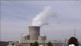 Arkansas Nuclear One plant near Russellville