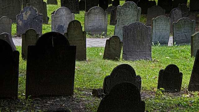 Cemetery, graves
