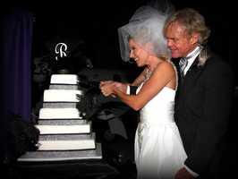 KMBC's Johnny Rowlands Shares Wedding Pics