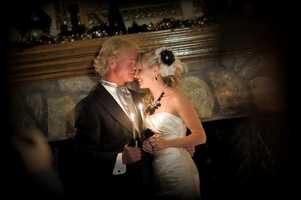 Kmbc S Johnny Rowlands Shares Wedding Pics