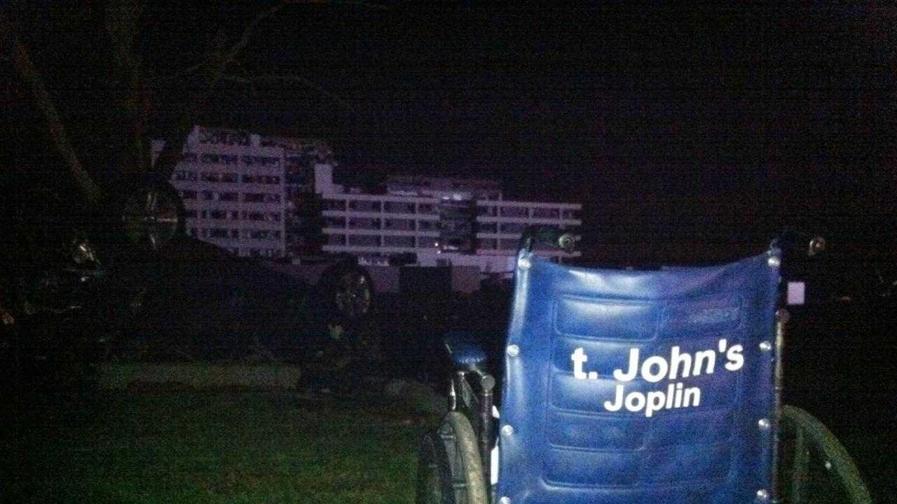 St. John's Hospital, Joplin, empty wheelchair - 27987822