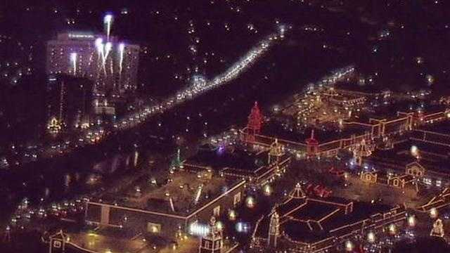 Plaza lights 2010