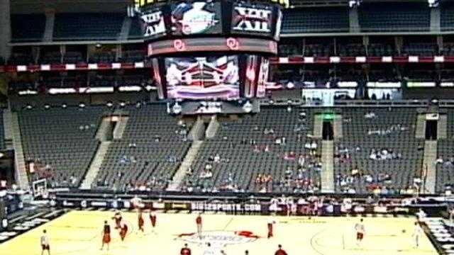 Sprint Center, Big 12 tournament, basketball - 22793175