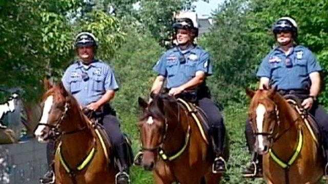 KC mounted patrol