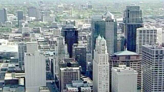 Generic Downtown KC Skyline (day) - 19347374