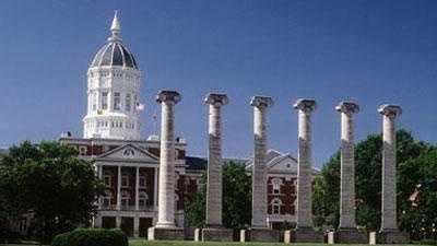 University Of Missouri Mizzou Campus Jesse Hall Columns - 18222800
