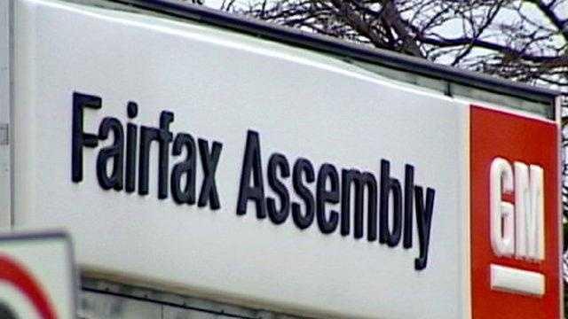 GM Fairfax Plant Sign - 17936109