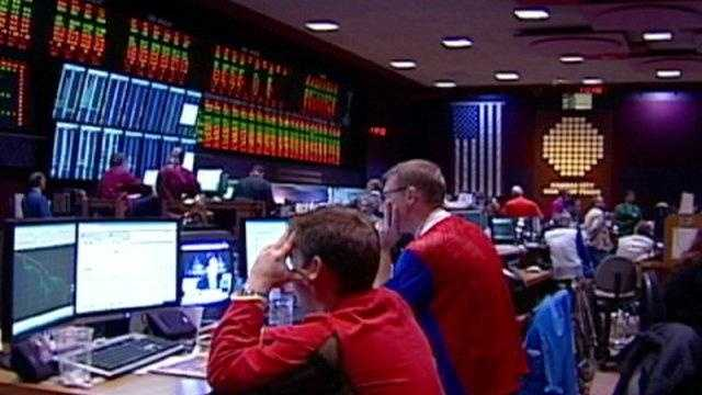 Kansas City board of trade, commodities floor - 17798224