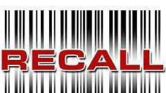 Recall graphic generic, bar code - 17395162