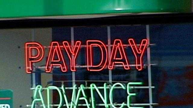 Payday Loan sign - 15768244