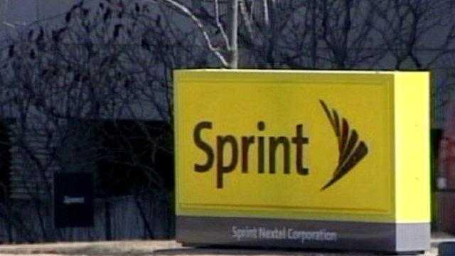 Sprint Nextel sign - 15295471