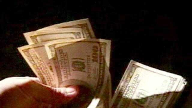 money in hand, cash, bills generic - 15088380