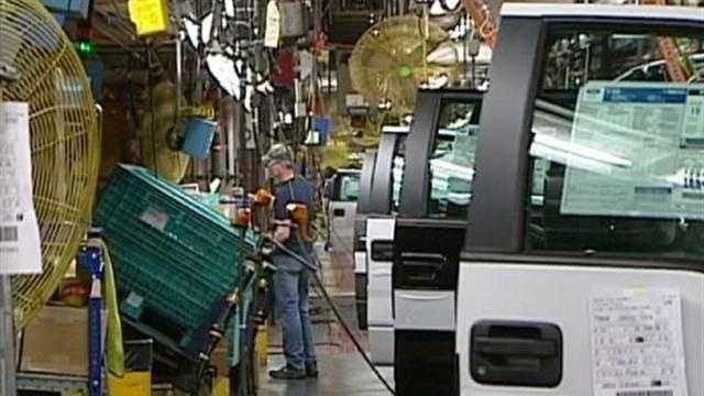 Ford Trucks At Claycomo - 30962649