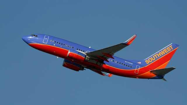 Southwest Airlines jet