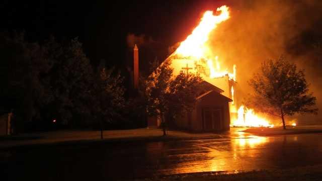 Moline church fire